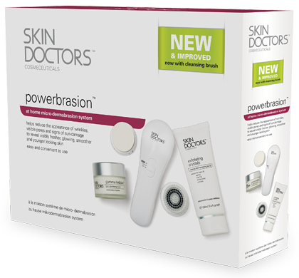 Powerbrasion Home Microdermabrasion System